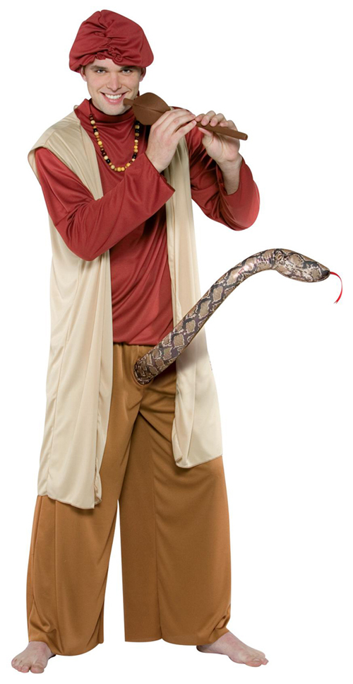 costume halloween incantatore serpente